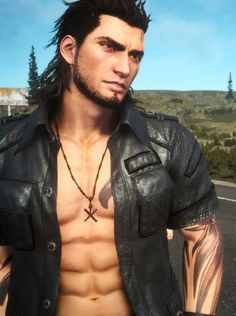 "daddydaily: "" today's daddy of the day is: gladiolus amicitia from final fantasy xv """