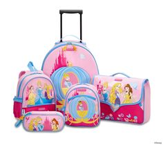 Disney Wonder - Princess Collection by Samsonite #Disney #Samsonite #Princess #Travel #Kids #School #Schoolbag #MySamsonite #ByYourSide