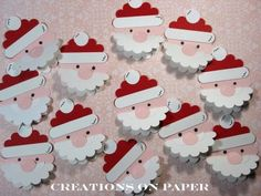 Creations on Paper: 1st Day OF CHRISTMAS CANDY BLOG