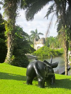 sculpture garden, Recife, Brazil