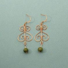 another local jewelry designer - way cool with the copper!