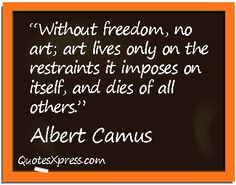This is why art is religion. Great Words, Wise Words, Picture Quotes, Love Quotes, Albert Camus Quotes, Philosophy Quotes, Creativity Quotes, Sarcasm Humor, Interesting Quotes