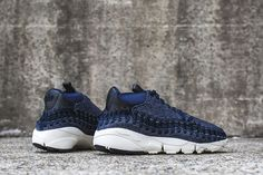 "uk availability 0f079 2e8d1 air footscape woven chukka se 857874 400 9 Nike Air Footscape Woven Chukka  SE ""Obsidian"