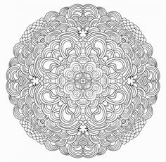 """Tension is who you think you should be. Relaxation is who you are."" --Chinese proverb  #adultcoloring #christmascoloring #freeadultcoloringbook #freeholidaycoloringpages #mandalacoloringpages #stressrelief"