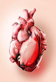 MOSHITA — Fragile Hearts 3 Hearts illustrated for a Flora...