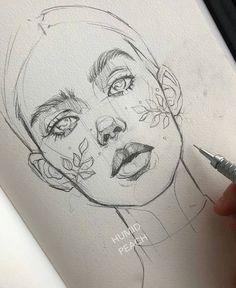 eye drawing - Drawing Tips Drawing Tips Pencil Art Drawings, Art Drawings Sketches, Realistic Drawings, Sketches Of Faces, Face Pencil Drawing, Pencil Sketches Easy, Pencil Sketching, Body Sketches, Sketching Tips