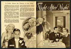 night after night 1932 film with garbo
