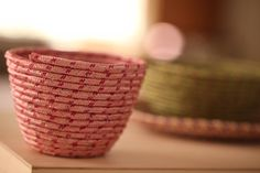 Simple, inexpensive and highly customizable! Robert Mahar's Rope Bowls, DIY video tutorial