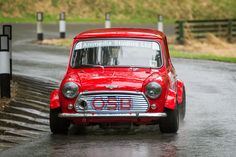 Race spec Classic mini at Prescott hill climb 2015