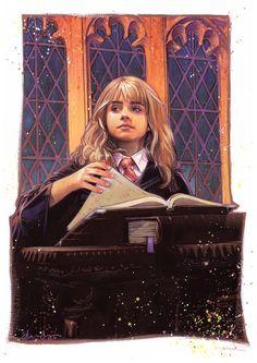 Hermione Granger by TOMMY LEE EDWARDS