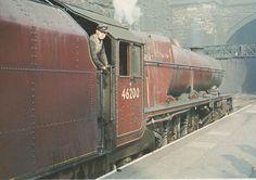 46200 The Princess Royal Electric Locomotive, Diesel Locomotive, Steam Locomotive, Steam Trains Uk, Old Steam Train, Abandoned Train, Abandoned Places, Rail Transport, Transport Posters