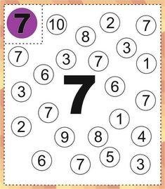Fall Preschool Activities, Numbers Preschool, Preschool Lessons, Preschool Math, All About Me Preschool, Math For Kids, Printable Preschool Worksheets, Kindergarten Math Worksheets, Math Notebooks