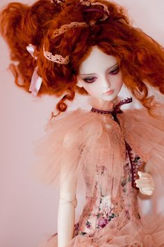 "#bjd #dolls ""She looks like Nicole Kidman to me! *-*!"