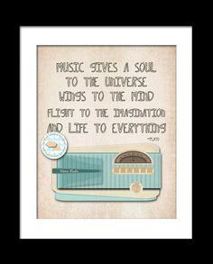I love Music!! <3  #music #quotes