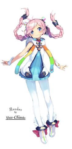 [ Render #11 ] Rana - Vocaloid by Yuu-Chimte
