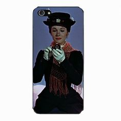 Amazon.com: Disney Mary Poppins Case Cover for iPhone 5 IMCA-CP-Ben6408: Cell Phones & Accessories