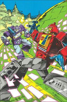 Transformers Blaster vs Soundwave G1