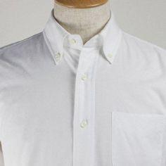 IVY LEAGUE C/#White 品番231011 C/#10 White コットン100%  生地はイタリアThomas Masonのオックスフォードを使用。 英国王室御用達のThomas Masonは世界最高峰とも称される生地。 高密度でしなやかな風合いで洗い込むほどに柔らかく体に馴染みます。 上品で柔らかな印象の1枚に仕上がっており、リピート率が非常に高いアイテムです。