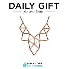 """""""The Daily Gift: Geometric Choker Necklace"""" by polyvore-editorial ❤ liked on Polyvore featuring Chicnova Fashion and dailygift"""
