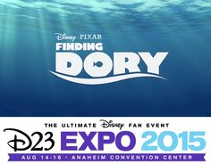 Pixar Post - For The Latest Pixar News: Exclusive Sneak Peek of 'Finding Dory' Announced For D23 Expo