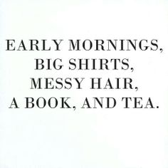 perfect except early morning lol