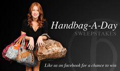 Handbag-A-Day Sweeps from Bagluxe.com! @Bagluxe   http://hottesttrendsetter.blogspot.com/2012/08/handbag-day-giveaway.html