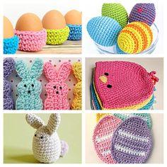 New Free Crochet Easter Patterns at Karlas Making It! http://www.karlasmakingit.com/free-crochet-patterns/free-crochet-easter-patterns/