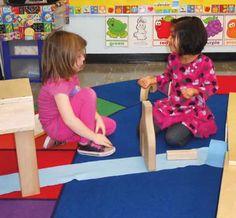 Building Bridges to Understanding in a Preschool Classroom: A Morning in the Block Center