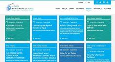 La caminata y el selfie por el Derecho al Agua del 15 de marzo de 2015 en la web de UN Water http://www.unwater.org/worldwaterday/events/en/