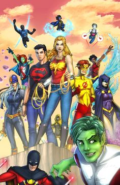 Teen Titans by Jamie Fay