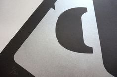 Le Corbusier Ampersand Exclusive Limited Edition Screenprint - £20 available at: www.bytomlove.com #design #typography #art