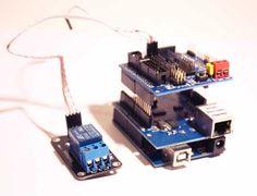 Como activar un relé por Internet con Arduino