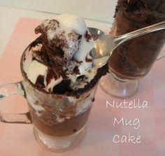 Nutella Mug Cake from Chocolate Chocolate and more