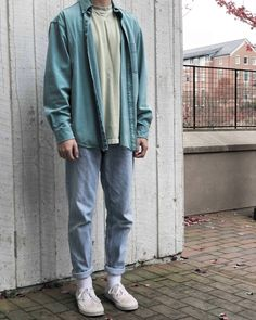 Mode Streetwear, Streetwear Fashion, Normcore Fashion, Retro Outfits, Vintage Outfits, Grunge Outfits, Mein Style, Stylish Mens Outfits, Mens Clothing Styles