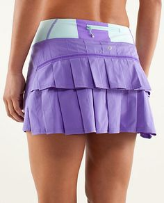 lululemon Run: Pace-Setter Skirt | power purple/bold stripe