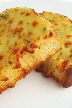 Unbelievable Grilled Garlic Cheese Bread