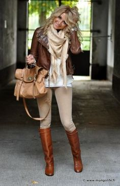 Cute fall outfit uploaded by Lillian Acosta on We Heart It Cute Fall Outfits, Fall Winter Outfits, Autumn Winter Fashion, Casual Outfits, Winter Wear, Mode Outfits, Fashion Outfits, Womens Fashion, Mode Style Anglais