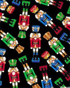 This nutcracker fabric would also make a fun apron!