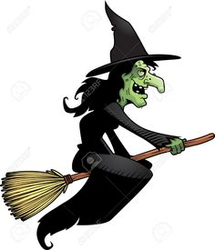 Illustration about A cartoon witch flying on a broomstick. Illustration of ugly, halloween, black - 14758226 Halloween Doodle, Halloween Socks, Spooky Halloween, Cartoon Faces, A Cartoon, Funny Faces, Cartoon Witch, Witch Painting, Real Witches