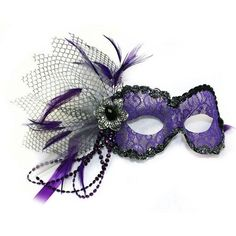Elegant Masquerade Hair Makeup Tutorial ❤ liked on Polyvore featuring beauty products and masks