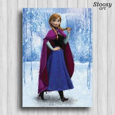 Hey, I found this really awesome Etsy listing at https://www.etsy.com/listing/266810594/disney-princess-frozen-anna-print