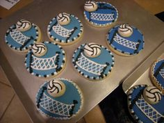 Sweetbakes: Volleyball Cookies