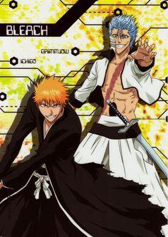 Grimmjow and Ichigo