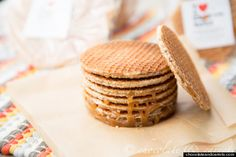 stroopwafels! They have prepackaged mini ones at trader joes, but now I can make my own (larger of course) cookie at home. Sooo good. And the special pan grill they're talking about. Waffle maker. BOOM