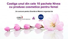 Concurs pentru Mamici si Gravide: castiga un pachet de cosmetice pentru femei marca Nivea Shopping