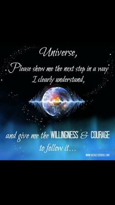 Willingness and courage