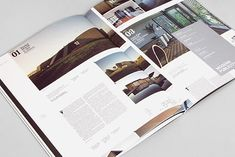 Magazine design and layout