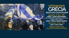 H Πορτογαλία στους δρόμους: «Αλληλεγγύη στην Ελλάδα – Φθάνει ο εκβιασμός»! :: left.gr