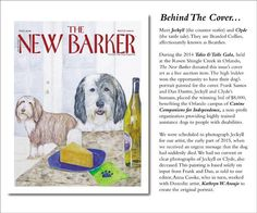 BEHIND THE COVER #thenewbarker #cover #art #artwork #magazinecover