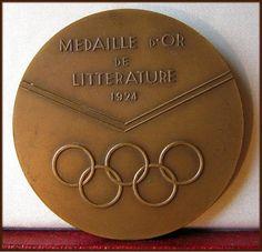 medalla de literatura de los juegos olímpicos 1924